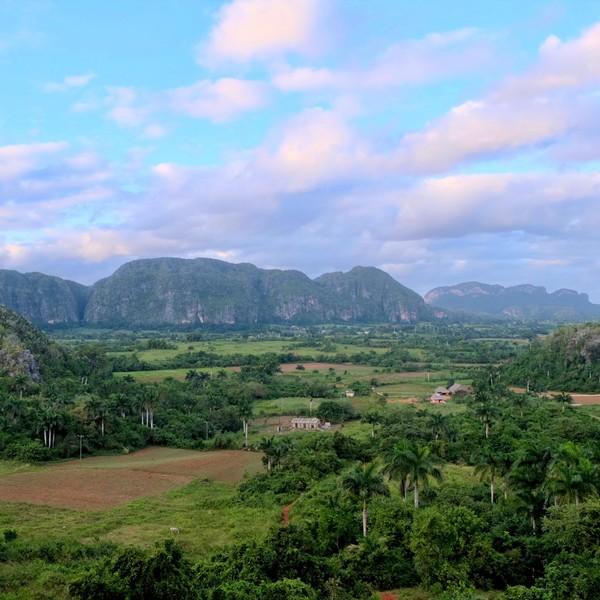 Das Bild zeigt einen Berg in Kuba.